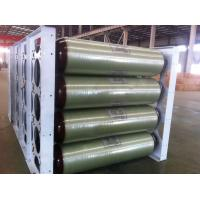China ISO11439 CNG Storage Tanks , 250 Bar 200L X 40 EA 20FT Compressed Natural Gas Tank wholesale