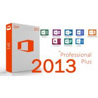 Buy cheap Retail Box Microsoft Office 2013 Professional Plus Key Code One Code For One PC from wholesalers