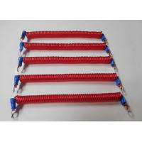 China Custom OEM 120MM Coil Long Double Eyelets Red Coil Extension Tool Tethers wholesale