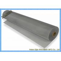 30m Length Aluminum Alloy Woven Wire Mesh For Melting Layer And Filter