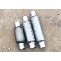 Buy cheap Id 57mm Overall Length 300mm Performance Exhaust Muffler Galvanized from wholesalers