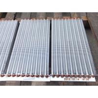 China high-quality aluminum fin copper tube radiator for cooling&heating wholesale