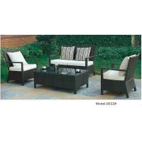 China 4pcs  rattan/wicker outdoor classic sofa furniture with cushion -9022 wholesale