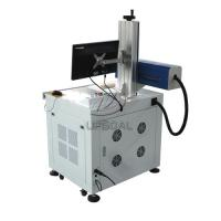 Quality Fast 30W Co2 RF Plywood MDF Laser Marking Machine with Different Depth for sale