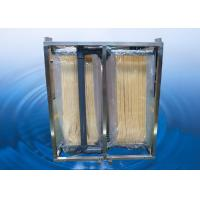 China MBR Membrane / Submerged Membrane Module For Waste Water Teatment 10 - 20L/m2.h on sale