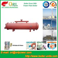 China Boiler Parts Coal Fired Boiler Steam Drum Corrosion Resistance For Industrial wholesale