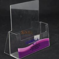 China Single Layer Clear Acrylic Brochure Holder wholesale