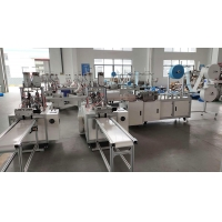 China 9 KW 130 Pcs / Min 99% 3 Ply Mask Making Production Line wholesale