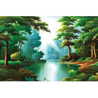 China Beautiful Sightseeing Style Plastic Printing Services With 3D Effect wholesale
