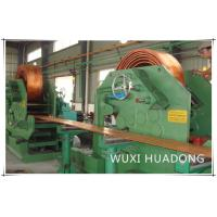 Quality High Effency Ccm Continuous Casting Machine For Brass Cooper Rod Billet Stripe for sale