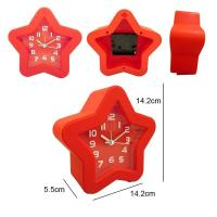 China star shape alarm clock table clock wholesale