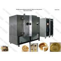 China Tin Gold Metal Magnetron Sputtering Coating Machine Vertical Orientation Chamber on sale