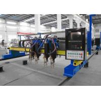 China Automatic Gantry Type CNC Plasma Cutting Machine with Multi Flame Cutting Torches on sale