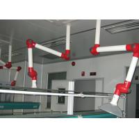 China Aluminum Alloy Tube Welding Fume Extraction Arm , Lab Accessories Adjustable Joint Knob wholesale