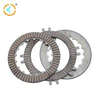 China Professional Motorcycle Clutch Kits , Clutch Disc Plate With Rubber Material wholesale