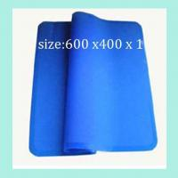 China fashionable silicone dinner pads ,square shape silicone table mats wholesale