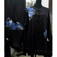 China martial arts clothing with dragon pattern wholesale
