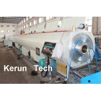 China Drainage Large Calibre Hollow Wall Winding Pipe Production Line 320 - 800kg/hr wholesale