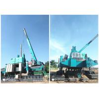 China Roadside Hydraulic Piling Machine 460T Piling Capacity No Air Pollution wholesale