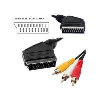 China 20 Pin Scart to 3RCA Plug Cable wholesale