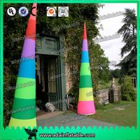 China Colorful Inflatable Cone Customized For Events Party Decoration wholesale
