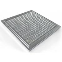 China IP65 Hydroponic Dimmable LED Grow Lights PPMA Cover , 300*300*10mm wholesale
