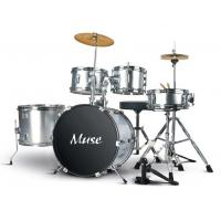 Quality Junior PVC Five Piece Drum Set Acoustic Drum Kits Percussion Kit A565P-902 for sale