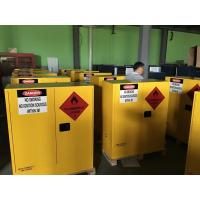 China Hazardous Chemical Storage Cabinets Fireproof  for Chemical Liquid 160 litres wholesale