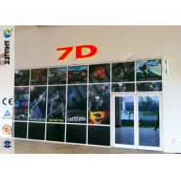 China Luxurious Decoration 7d Simulator Cinema With HD Projectors Professional Audio wholesale