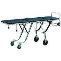 China Corpse Trolley Mortuary Equipment 1000lb Multi Level One Man Control Mortuary Cot wholesale