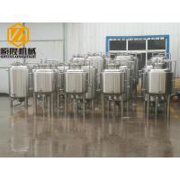 Quality Metal Industrial Beer Equipment SS304 Or Cooper Material With Tanks / Pumps for sale