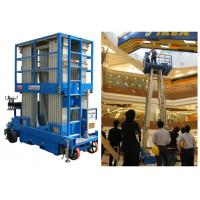 China Big Capacity Aerial Vertical Mast Lift Four Mast 8 Meter For Maintenance Service wholesale