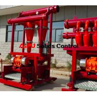 Quality Oil well drilling fluid solids control  desander separator at Aipu solids for sale