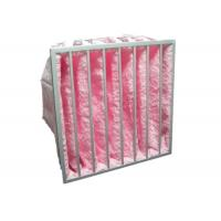 China Reusable Multi Pocket Air Conditioning Ventilation Air Filter Synthetic Fiber Glass Fiber wholesale