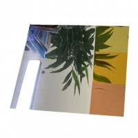China Silver Colored 0.2mm 6.0mm Clear Mirror Aluminum Sheet 3mm To 3000mm Width wholesale