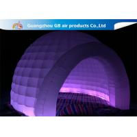 China Outdoor Event Multi Color Inflatable Dome Tent With LED Lighting wholesale