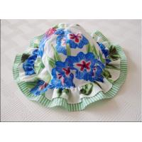 China hot sale baby summer flower hat ,girl