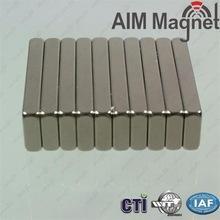 China Custom Size Power Permanent Sintered Neodymium Magnet block 26x14x4mm wholesale