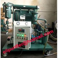 China insulation oil purification plant, transformer oil purifier with moisture tester 4ppm wholesale