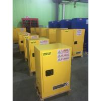 China Laboratory Paint Storage Flammable Safety Cabinets For Oil Station , Long Life wholesale