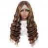 Buy cheap Virgin Brazilian Remy Human Hair Full Lace Wig Full Lace Remy Human Hair Wigs from wholesalers
