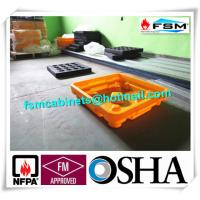 China Drum Spill Containment Pallets , Pallet Containment Tray For Spilled Fluids wholesale