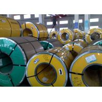 China Thickness 0.3 - 3.0mm Steel Strip Coil , 400 Series Stainless Steel Sheet Metal Coil wholesale
