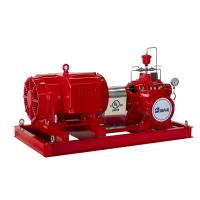 China UL Listed Split Case Centrifugal Pump Motor Driven Fire Pump For Pipelines Bureaus wholesale