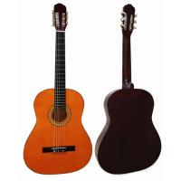 China red / Black Junior Basswood Wood Classical Guitar Polished Painting CG3910A wholesale