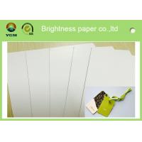 China Two Side Printed A0 Card Sheets , C2S Glossy Strong Cardboard Sheets For Art wholesale