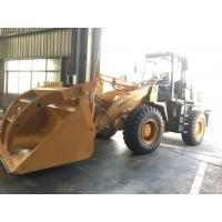 China Lonking 3 ton front end loader with steel pipe clamp for sale wholesale