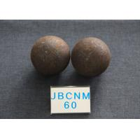 China Cement  Plants  D60mm  Hot Rolling Steel Balls Grinding Media Core hardness 58-61hrc wholesale