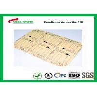 China CNC / V-CUT Surface Finish Single Sided Printed Circuit Board with Black Sillkscreen wholesale