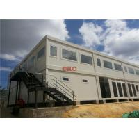 China Mineral Wool Panel Mobile Office Containers 20ft Or 40ft With Conference Meeting Room wholesale